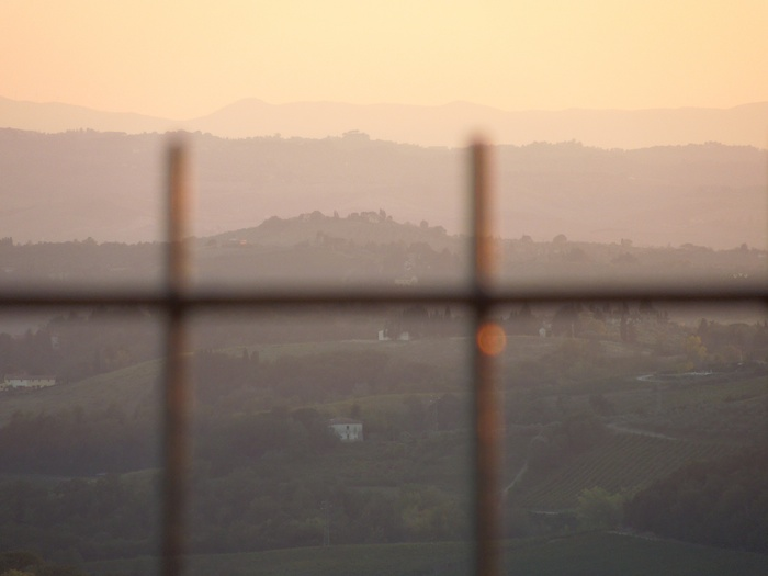 zonsondergang-chianti-eind-september-2014-1